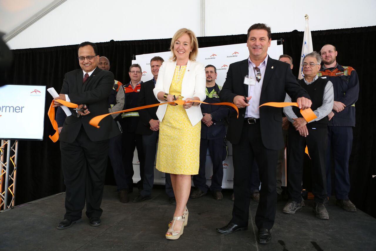 ArcelorMittal Produits longs Canada inaugure une nouvelle ligne de